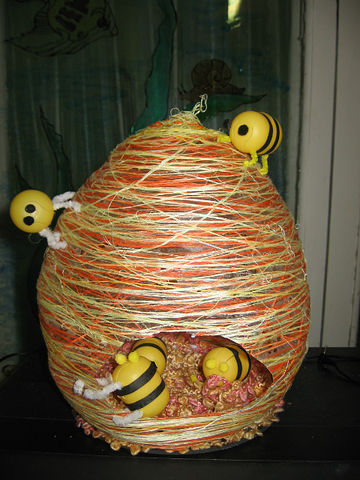Как сделать пчёл из подручных материалов