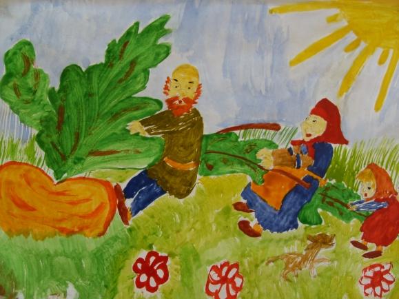 комнату русские народные сказки рисунок на конкурс отдал трубку