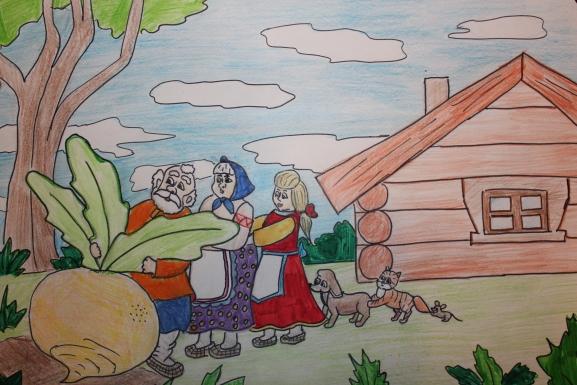 рос картинка народной сказки рисовать и обсудить подарок