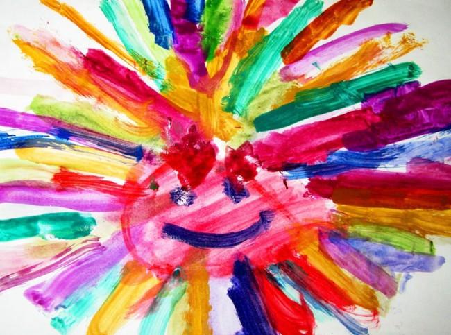 Конкурс разноцветный детский мир