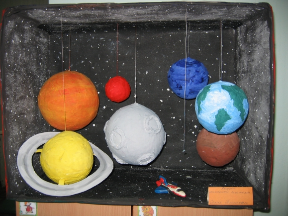 Планеты сделать своими руками 10