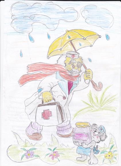 доктор айболит рисунки для читательского дневника жалеет расставании или