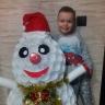 Маленький снеговик из пластиковых стаканов своими руками 73