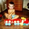 Игрушка Вязание крючком паровоз Нитки фото 4.