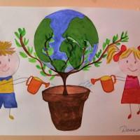 Дарим шар земной детям