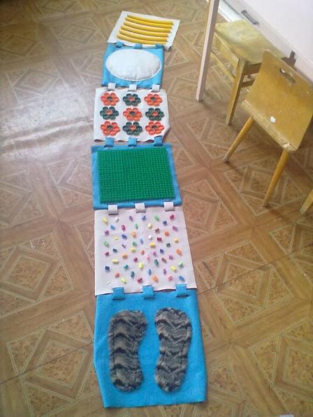 Дорожки для закаливания в детском саду своими руками фото по фгос 69