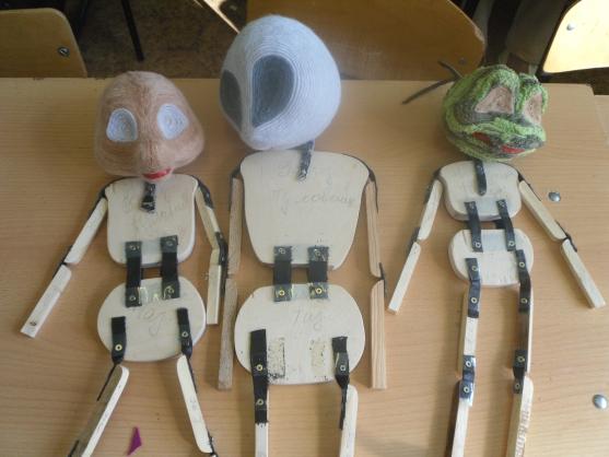 """Изготовление планшетных кукол для кукольного театра. Герои сказки """"Теремок"""". Воспитателям детских садов, школьным учителям и пед"""