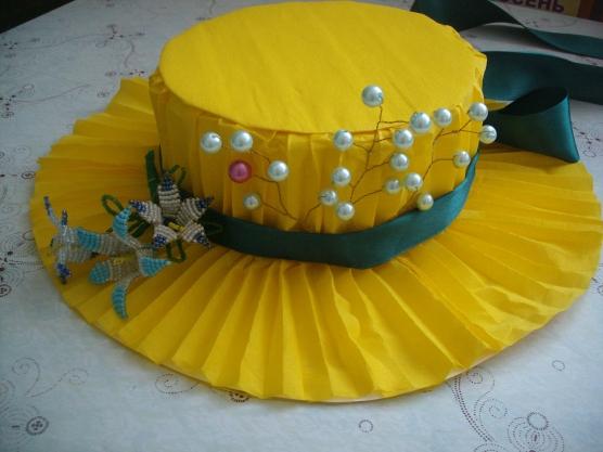 Сделать шляпу на детский конкурс