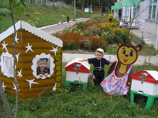 Территория детского сада оформление