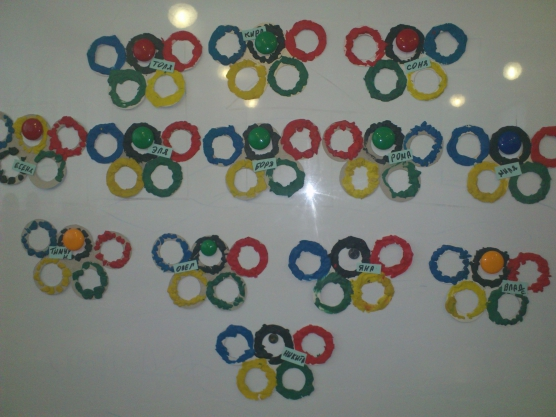 знакомство с олимпийской символикой