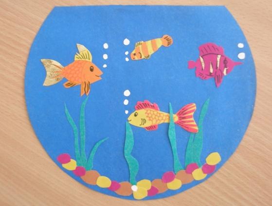 Поделки из бумаги все рыбы