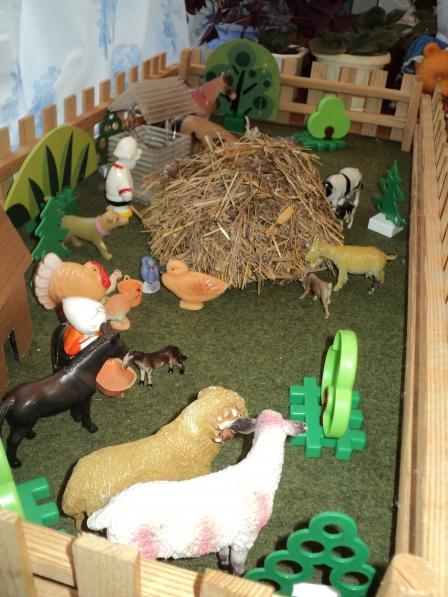 Домашние животные в детском саду своими руками 299