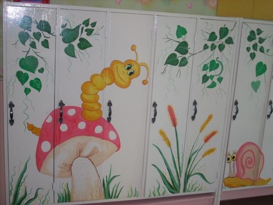 Павла картинки, рисунок на шкафы в приемной детского сада