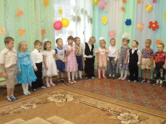 Осенний праздник для детей разновозрастной ср-ст. группы и родителей. «Осень, осень золотая»
