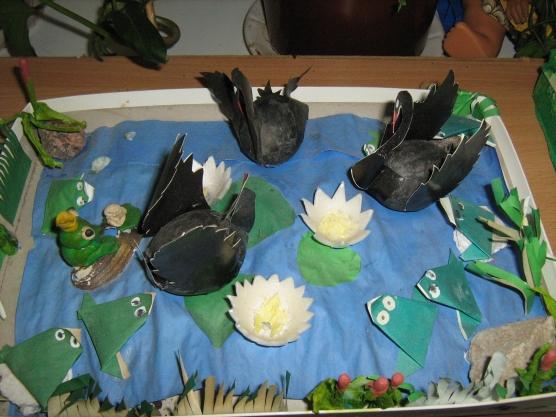 Макет водоема для детского сада своими руками