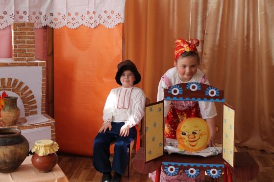 Сценарий русских народных сказок в костюмах