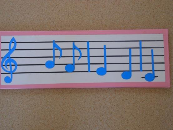 Рисунок скрипичного ключа