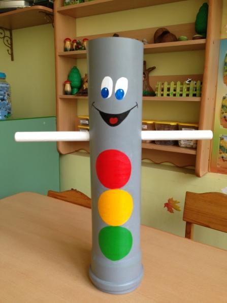 Как сделать светофор своими руками для детского сада