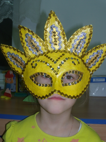 Фото детских масок своими руками