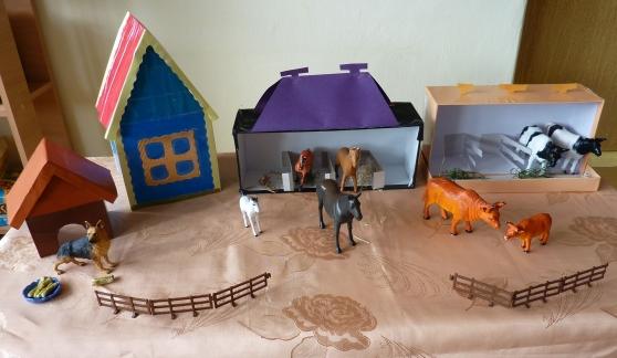 Макет дома для детского сада