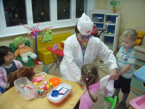 занятие знакомство с профессией доктора