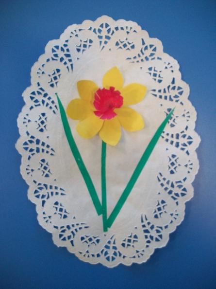 Сделать цветы из салфеток открытки