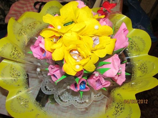 Поделки из цветов в детский сад фото 3
