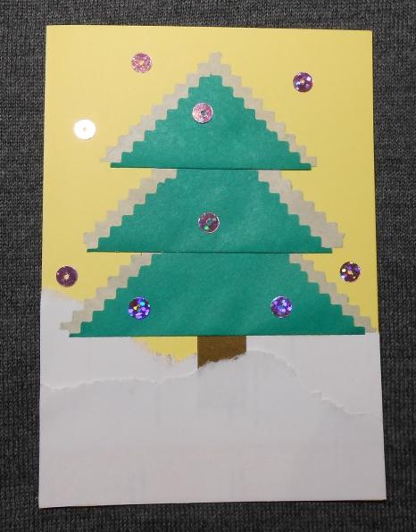 Картинки ребенком, конспект по аппликации новогодняя открытка средняя группа