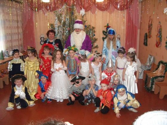 Сценарий на новый год в старшей группе детского сада видео