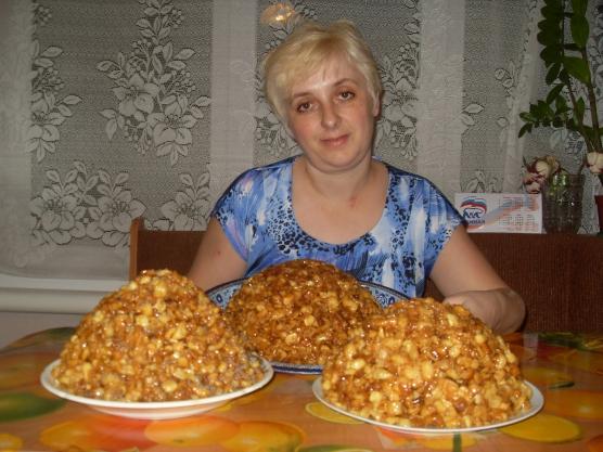 рецепт медовой горки чак чак