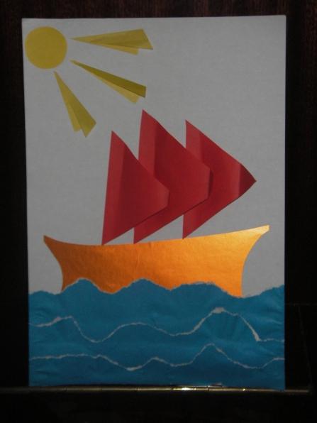 Кораблики из бумаги своими руками кораблик с парусами фото 810