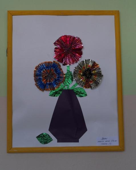 Поделки из фантиков для детей 4-5 лет своими руками