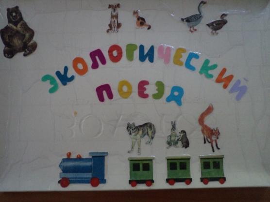 Дидактическая игра «Экологический поезд»