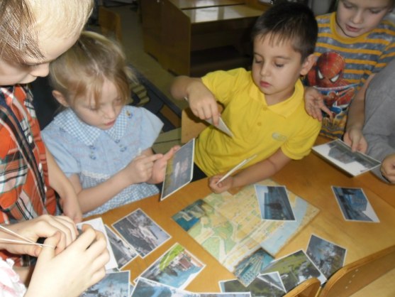 знакомство детей с городом самара