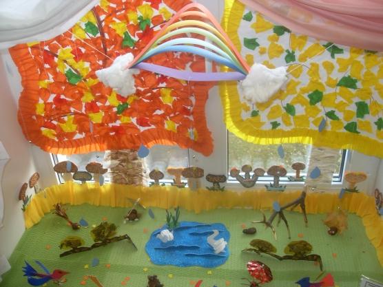 Как украсить раздевалку в детском саду своими руками осень 65