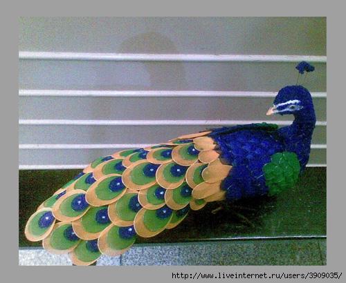 Птицы из капрона своими руками