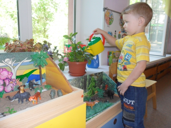 Уголок природы в нашем детском саду