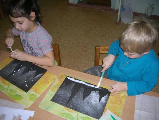 Мастер класс нетрадиционное рисование в старшей группе