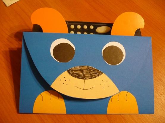 Картинки, открытка из бумаги собачка на день учителя