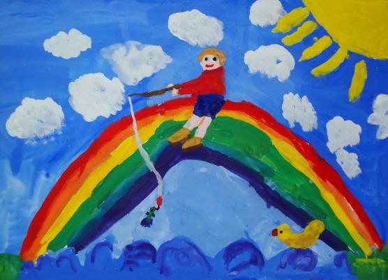 Ситникова милена моя семья и радуга