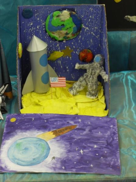 Своими руками с детьми космос
