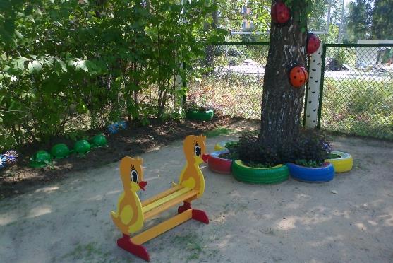Оформление летнего участка в детском саду своими руками