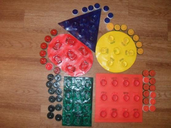 Дидактические игры из бросового материала или 191