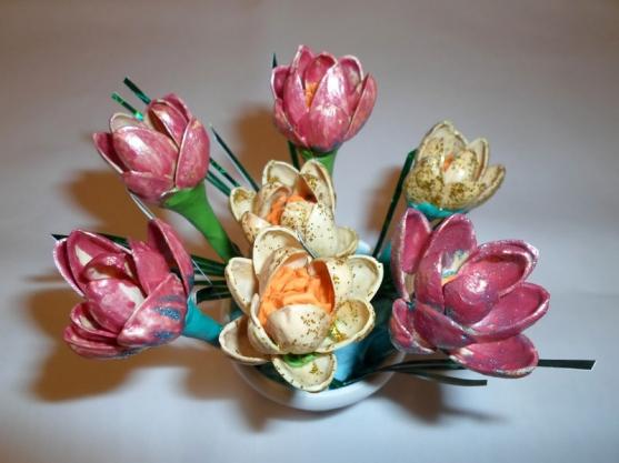 Поделки из природного материала своими руками весна