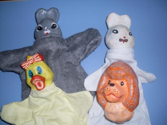 Куклы папье-маше для кукольного театра своими руками