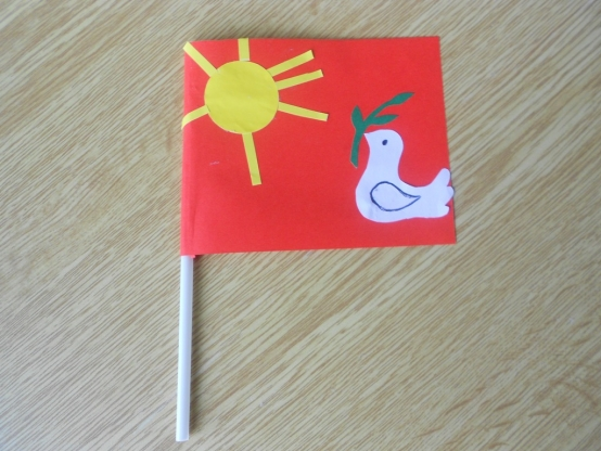 Поделки флаг для детей 48