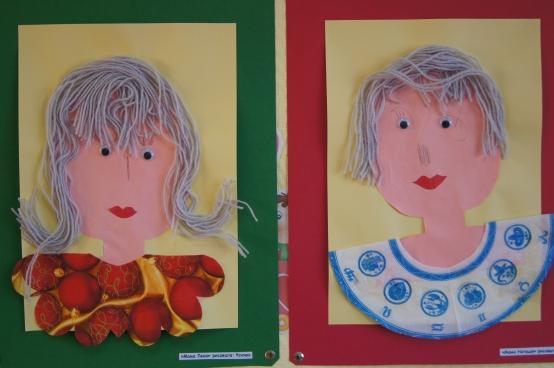 Как нарисовать или сделать аппликацию портрета мамы к дню матери