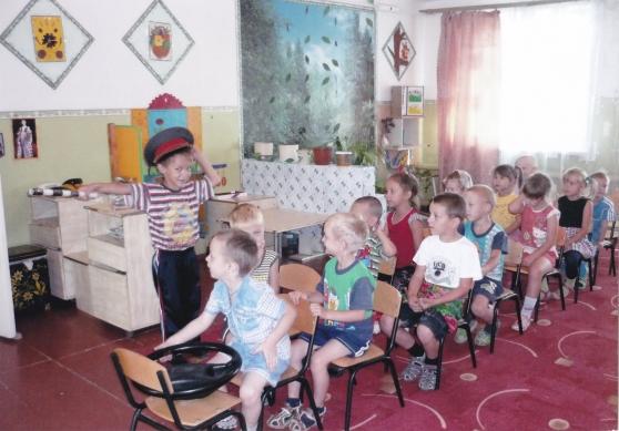 знакомим дошкольников с правилами поведения