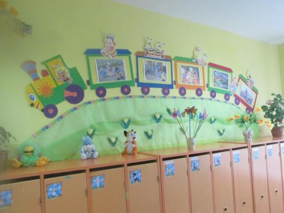 Приемная в детском саду оформить своими руками