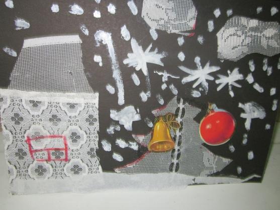 Коллаж на зимнюю тему своими руками